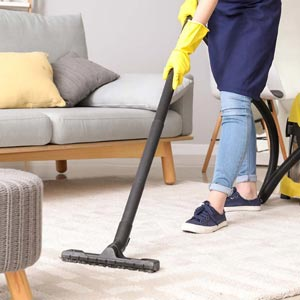 Living Room Cleaning